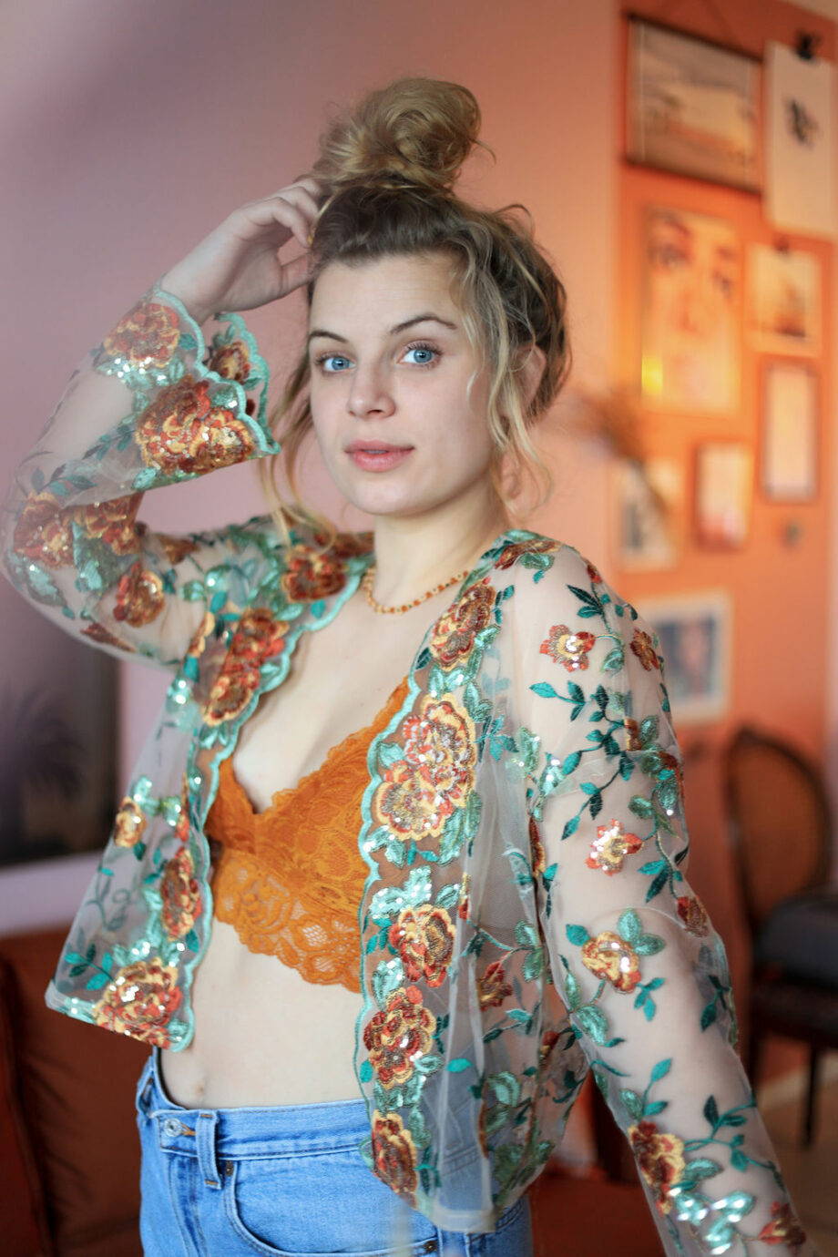 Indian Kimono